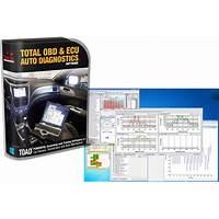 Total obd & ecu auto diagnostics software (toad) & elm327 scan tool methods