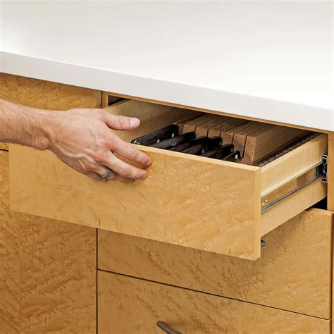 Touch to open drawer slides Image