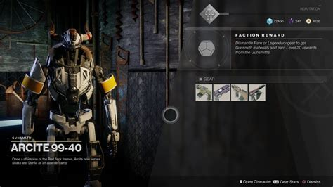 Tower Gunsmith Destiny 2