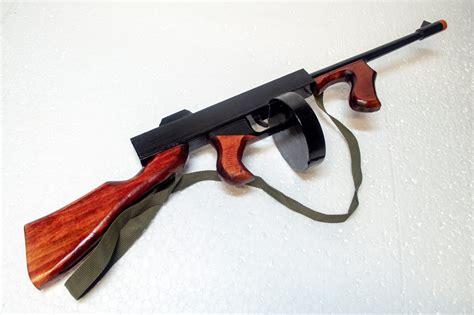 Toy Tommy Gun Target