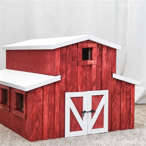 Toy wood barn plans Image