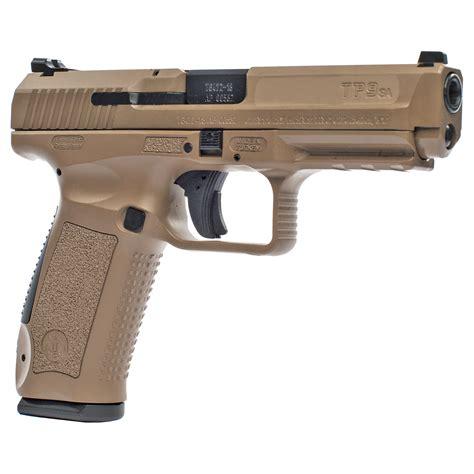 Tp9sa Desert Pistol 9mm W Two Mecgar 18rd Mags