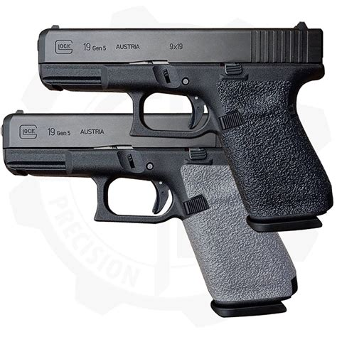 Traction Grip Overlays For Glock G42 Pistols And U Glass Pistol Grip Chin