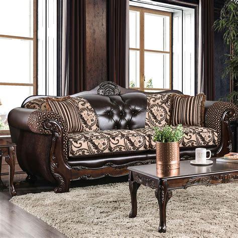 Traditional Wood Sofa Furniture