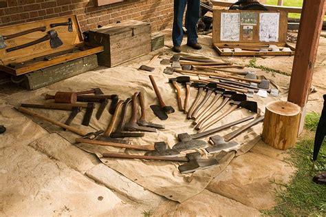 Traditional woodworking tools Image
