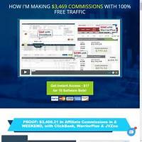 Traffic bots 10 affiliate tools 75 commissions cash prizes guides