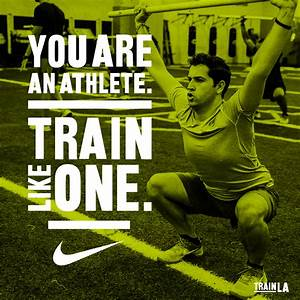 Train like an athlete step by step