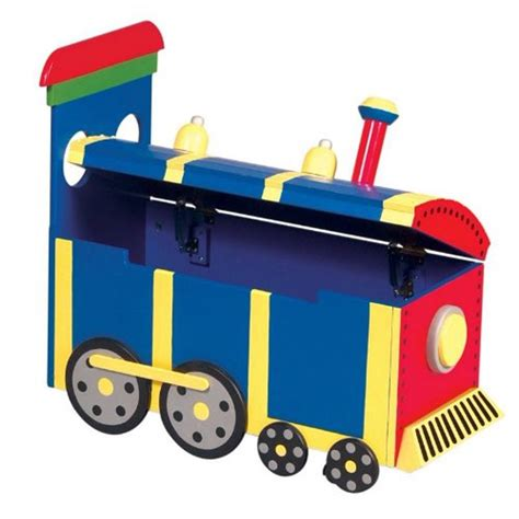 Train toy box design Image