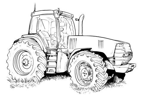 Traktor Malvorlagen Zum Ausmalen