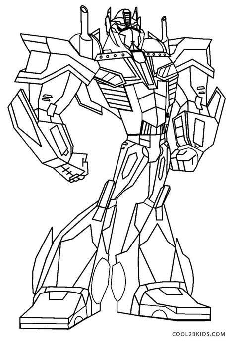 Transformers Malvorlage