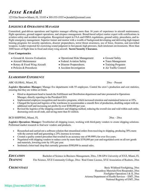 Project Manager Logistics Resume | Resume Job Description