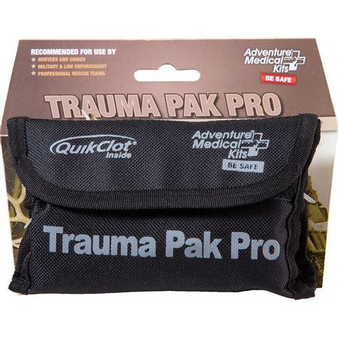 Trauma Pack Pro With Quikclot Swatt Adventure And Lamp Led Assemblies Surefire