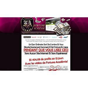 Travail a domicile juteux ? fortune internet acad?mie scam?