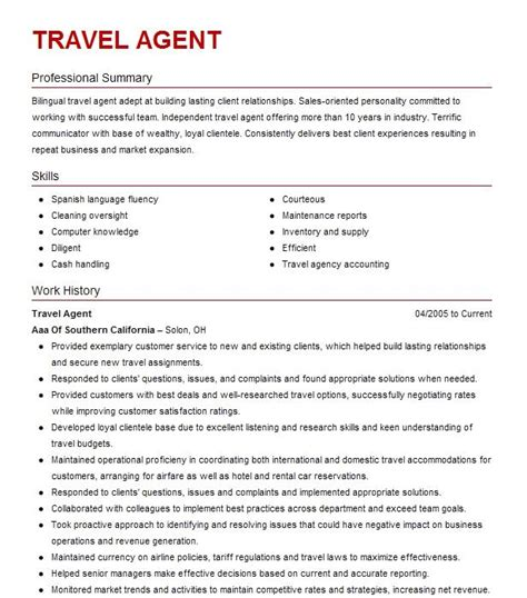 Job Application Letter Travel Agent | Professional Resume ...