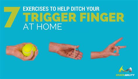Trigger Finger Therapy Exercises After Surgery
