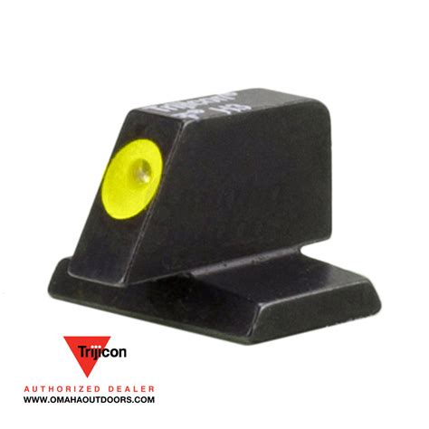 Trijicon Fn 40 Caliber Hd Xr Front Sight Hd Xr Front Sight Orange Outline Fn 40 Caliber