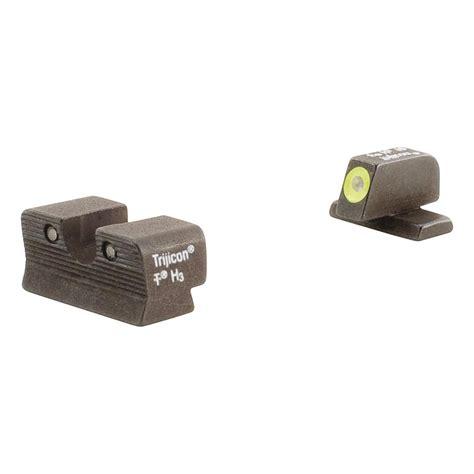 Trijicon HD Night Sights For SIG Sauer Pistols - Orange Or