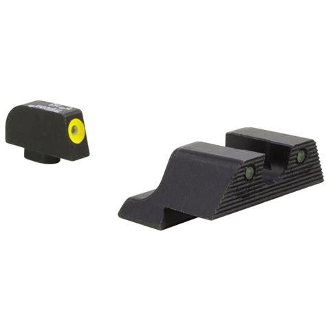 Trijicon Hd Xr Night Sights For Glock Hd Xr Night Sight Setglock 202130 Yellow Front