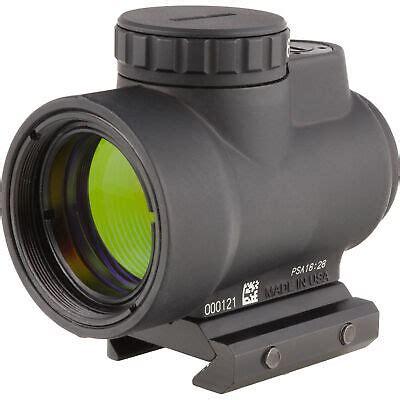 Trijicon Mro 1x25mm Adjustable Green Dot Sight W 2 0 Moa
