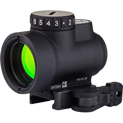 Trijicon Mro Green Dot Reflex Sight 1x25mm Mro 20 Moa Green Dot Low Mount