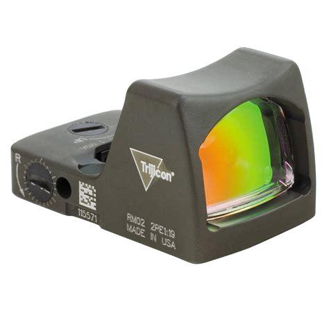 Trijicon RMR 6 5 MOA Adjustable LED Red Dot Sight