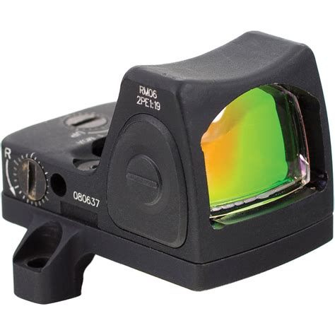 Trijicon Rmr Red Dot Sight Led With 3 25 Moa Red Dot