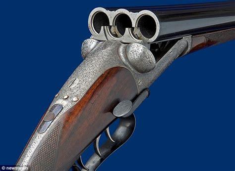 Triple Barrel Pump Action Shotgun