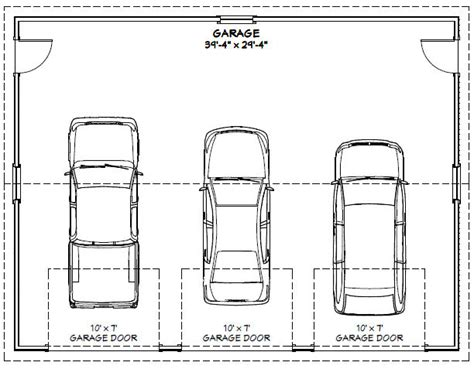 Triple Car Garage Dimensions Make Your Own Beautiful  HD Wallpapers, Images Over 1000+ [ralydesign.ml]