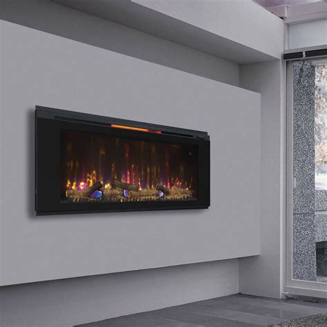 Troxell Wall Mounted Electric Fireplace