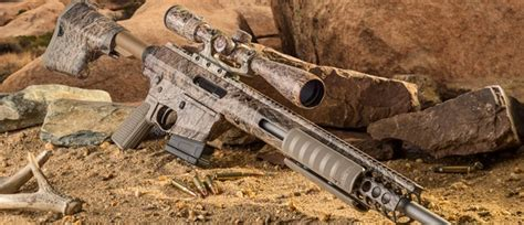 Troy Pump Action Rifle 338 Federal