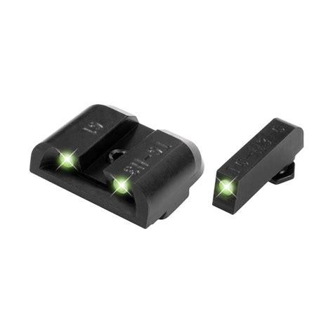 TruGlo Brite Site Handgun Tritium Day Night 3-Dot Front