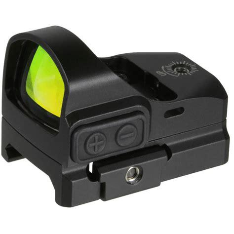 Truglo Tru Tec Micro Sub Compact Open Red Dot Sight