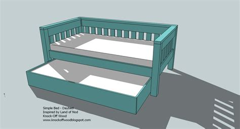 trundle bed wood plans