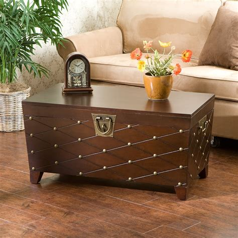 Trunk Chest Coffee Table Image