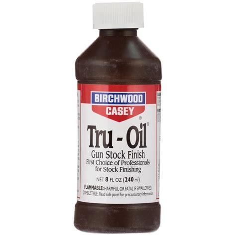 Truoil Stock Finish Birchwood Casey Gunsmike Bugpy Co
