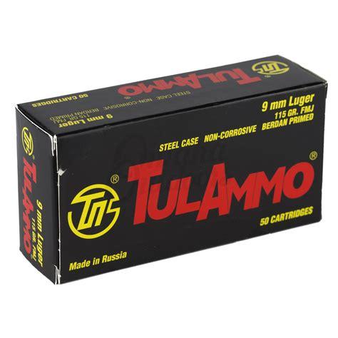 Tul Ammo 9mm Fmj Steel Case