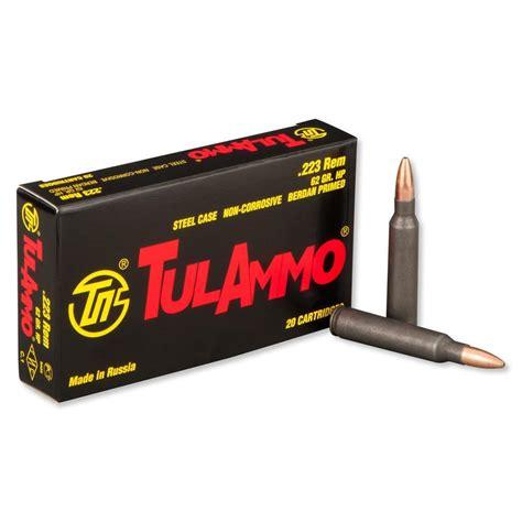Tula 223 Steel Case Ammo