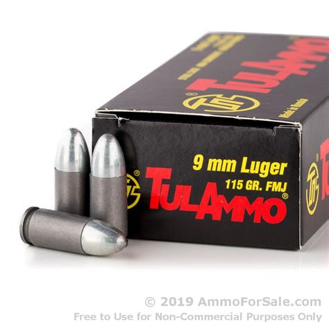 Tula Ammo 9mm Bullet