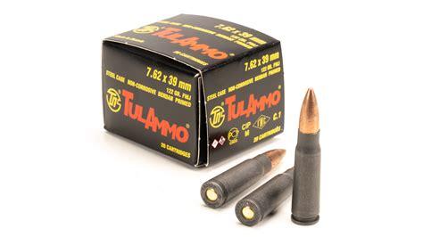 Tulammo Usa Steel Case Ammo 7 62x39mm 122gr Fmj Brownells