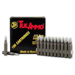 TULAMMO 223 62gr Steel Case Zinc Plated Ammo Review Accurate And Reliable