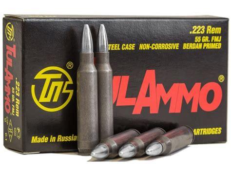 Tulammo Ammo 223 Remington 55 Grain Full Metal Jacket Bi