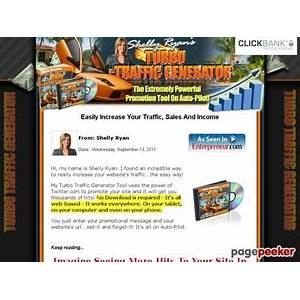 Turbo traffic generator the instant traffic solution does it work?