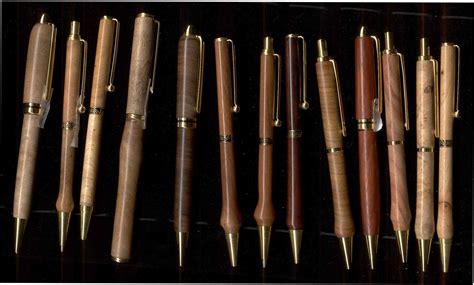 Turning wood pens Image