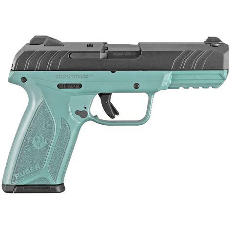 Turquoise 9mm Handgun
