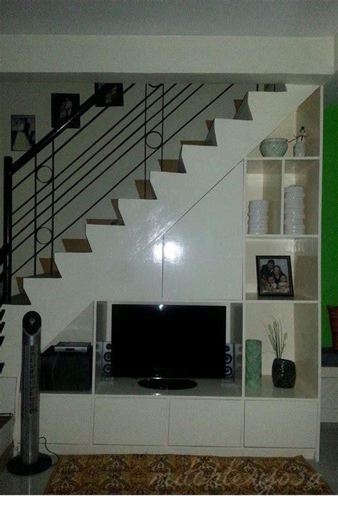 Tv Cabinet Under Stairs Design