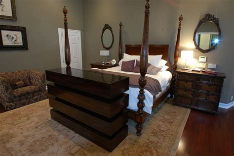 TV Lift Cabinet Foot Of Bed Image