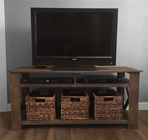 Tv stand with mount plans Image