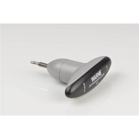 Tw1 25in Lb T15 Torque Wrench Warne Scope Mounts