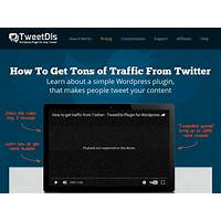 Cheap tweetdis for wordpress: get more traffic from twitter and more shares