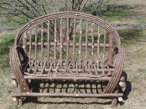 Twig garden furniture plans Image
